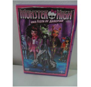 DVD MONSTER HIGH - UMA FESTA DE ARREPIAR. - Sem faixa etaria - DVD