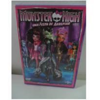 DVD MONSTER HIGH - UMA FESTA DE ARREPIAR. -  - DVD