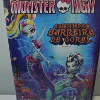 DVD MONSTER HIGH - A ASSUSTADORA BARREIRA DE CORAL. -  - DVD