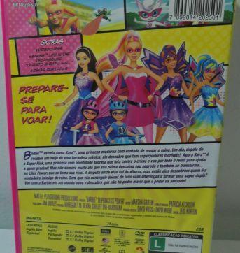 DVD BARBIE SUPER PRINCESA - Sem faixa etaria - DVD