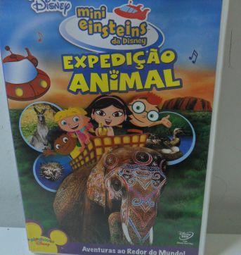 DVD MINI EINSTEINS DA DISNEY - EXPEDIÇÃO ANIMAL. - Sem faixa etaria - Disney
