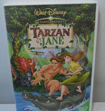 DVD TARZAN E JANE - Sem faixa etaria - Disney