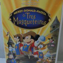 DVD OS TRÊS MOSQUETEIROS (MICKEY, DONALD, PATETA) -  - Disney