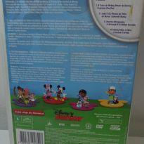 DVD DISNEY 4 DISCOS: A CASA DO MICKEY + JAKE + MANNY  + DOUTORA. -  - Disney