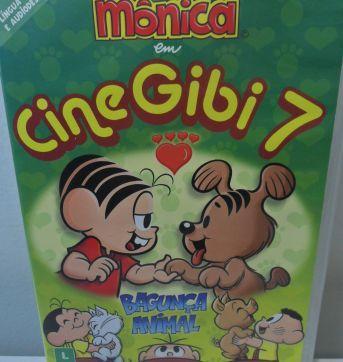 DVD TURMA DA MÔNICA - CINE GIBI 7 - Sem faixa etaria - DVD