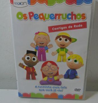DVD OS PEQUERRUCHOS - CANTIGAS DE RODA. - Sem faixa etaria - LOG ON Editora Multimídia
