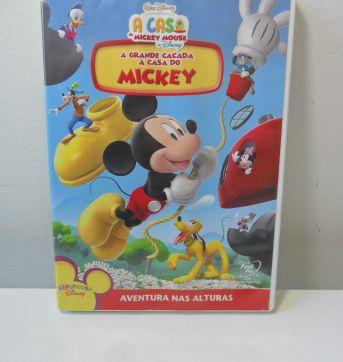 DVD A CASA DO MICKEY - A GRANDE CAÇADA À CASA DO MICKEY. - Sem faixa etaria - Disney