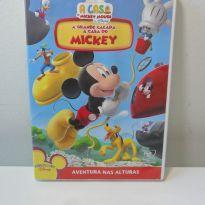 DVD A CASA DO MICKEY - A GRANDE CAÇADA À CASA DO MICKEY. -  - Disney