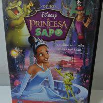 DVD A PRINCESA E O SAPO. -  - Disney