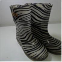 Bota Galocha Zebra Infantil Pampili - 28 - Pampili
