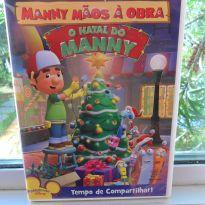 DVD Manny Mãos A Obra - O Natal Do Manny -  - Disney
