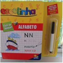 Escolinha Todo Livro Fácil de Apagar Alfabeto -  - Todo Livro