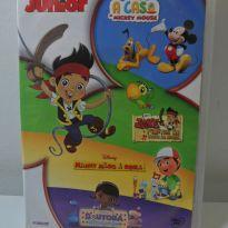 DVD DISNEY 4 DISCOS: A CASA DO MICKEY + JAKE + MANNY  + DOUTORA. -  - Disney