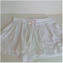 Short Infantil Branco Zara