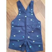 jardineira azul marinho - 18 meses - First Impressions
