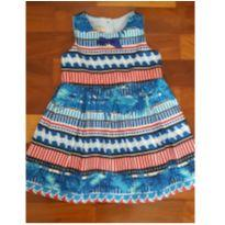vestido de festa um mais um novo - 1 ano - Um mais um
