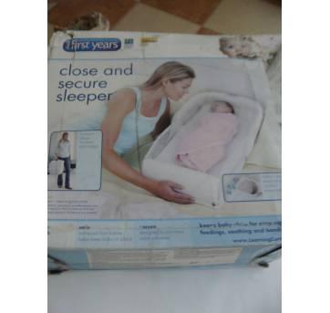 Berço Portátil Close Secure Sleeper - Sem faixa etaria - The First Years