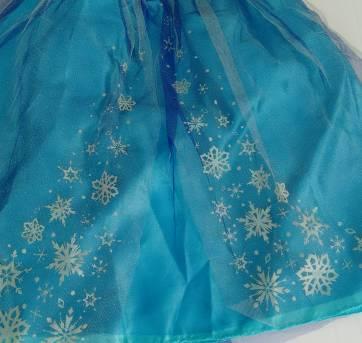 Vestido Baile Elsa  Frozen - Sem faixa etaria - Disney