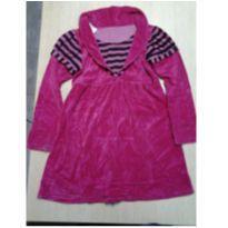 Vestido de Veludo - 6 anos - Mundo Infantil