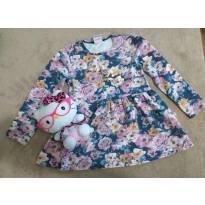 Vestido Floral - 2 anos - Brandili