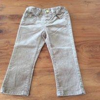 Calça Zara 12-18m de veludo - 12 a 18 meses - Zara