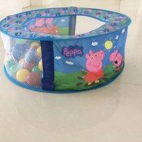 Piscina de bolinha da Peppa -  - Lider brinquedos