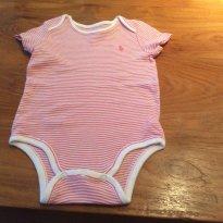 Body listrado Ralph Lauren - 9 meses - Ralph Lauren