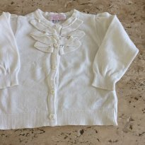 Casaco branco Baby Cottons - 1 ano - Baby Cottons
