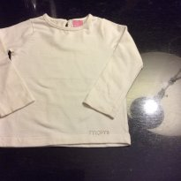 Camiseta Momi marfim - 1 ano - Momi