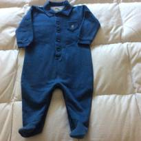 Macaquinho azul Baby Cottons - 6 meses - Baby cottons