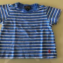 Camiseta listrada RL - 9 meses - Ralph Lauren