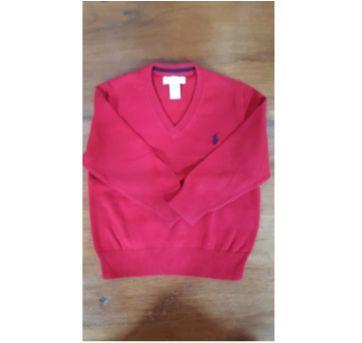 Blusão vermelho RL - 2 anos - Ralph Lauren