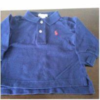 Blusa azul marinho RL - 18 meses - Ralph Lauren