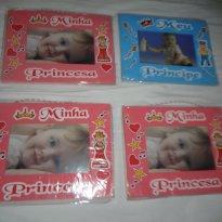 Porta Retrato Infantil Bebe Minha Princesa Meu Principe Disney unidade - Sem faixa etaria - Não informada