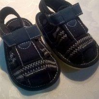 Sandalia Papete Bebe Azul Chicco tam 16 - 16 - Chicco