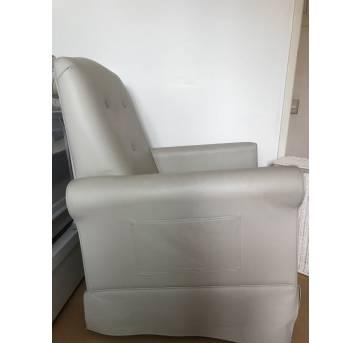 Cadeira Amamentação Corino Balanço super confortavel Marca Abstratto - Sem faixa etaria - Abstrato
