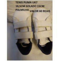 Tenis Puma Branco - 23 - Puma e Adidas Originais