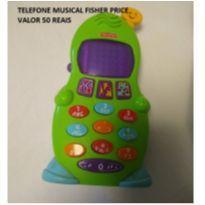 TELEFONE MUSICAL FISHER PRICE -  - Fisher Price