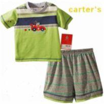 PIJAMA BEBE CARTERS CARRINHO 3 MESES - 3 meses - Carter`s