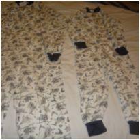 Conjunto pijama macacao avião mãe e filho - 5 anos - semmarca