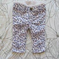 Calça estampada oncinha - 3 a 6 meses - Baby Gap