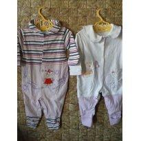 VOCÊ LEVA 2 POR PREÇO DE 1!!! Macacões da Bicho Molhado e Nenê Belo - 3 a 6 meses - Bicho Molhado e Nenê Belo