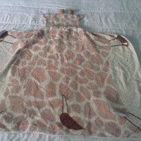 Toalha de banho da Girafinha - Sem faixa etaria - Incomfral