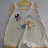 BANHO DE SOL -  DISNEY BABY - TAM: P VESTE DE 03 A 06 MESES - 3 a 6 meses - Disney baby