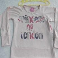 BLUSA PRINCESS OF LONDON - STYLO BABY - TAM: 06 VESTE 03 A 04 ANOS - 3 anos - STYLO BABY