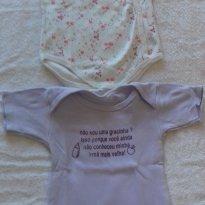 2 - BODY POR PREÇO UM - ANJOS BABY - TAM: 03 A 06 MESES - 3 a 6 meses - Anjos baby