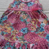 VESTIDO FLORAL - FOR GIRL - TAM: 6 ANOS - 6 anos - For Girl