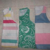 Kit 3 Camisetas regata Malwee - 9 a 12 meses - Malwee