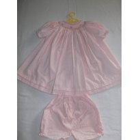 RESERVADO PARA SOLANGE PISKE Vestido Harlequim - 6 a 9 meses - Harlequim