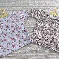 2 - CAMISETAS DA ALEGRINHOS BABY - TAM 3 ANOS - 3 anos - ALEGRINHOS BABY
